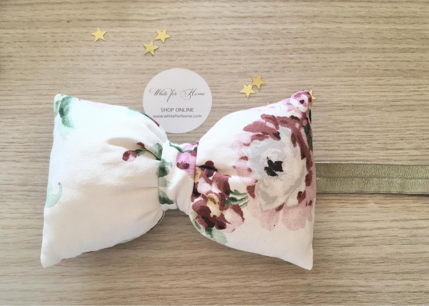Κορδέλα μαλλιών / Φιόγκος λουλούδι