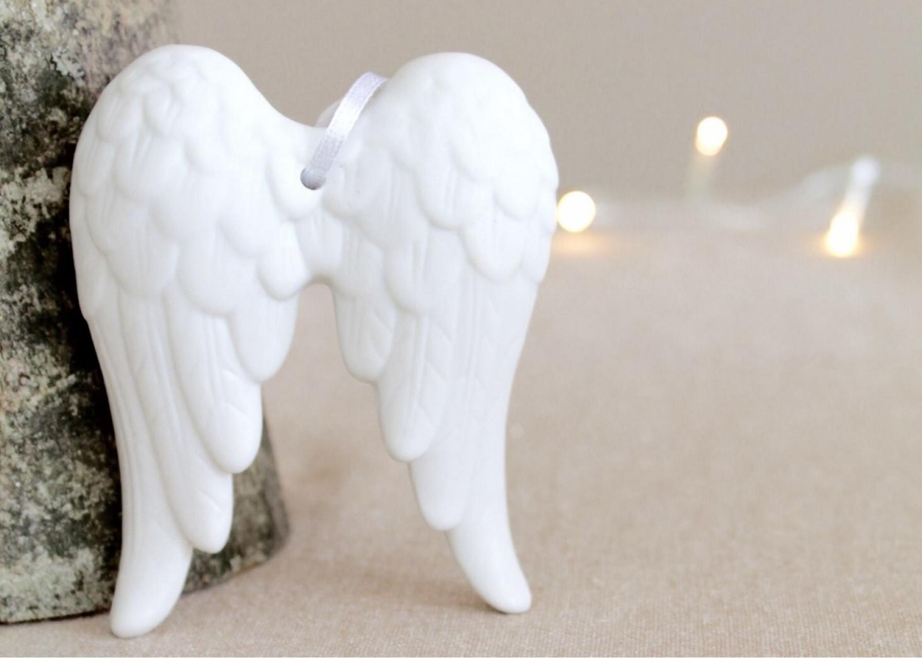 Κεραμικό στολίδι / Φτερά αγγέλου