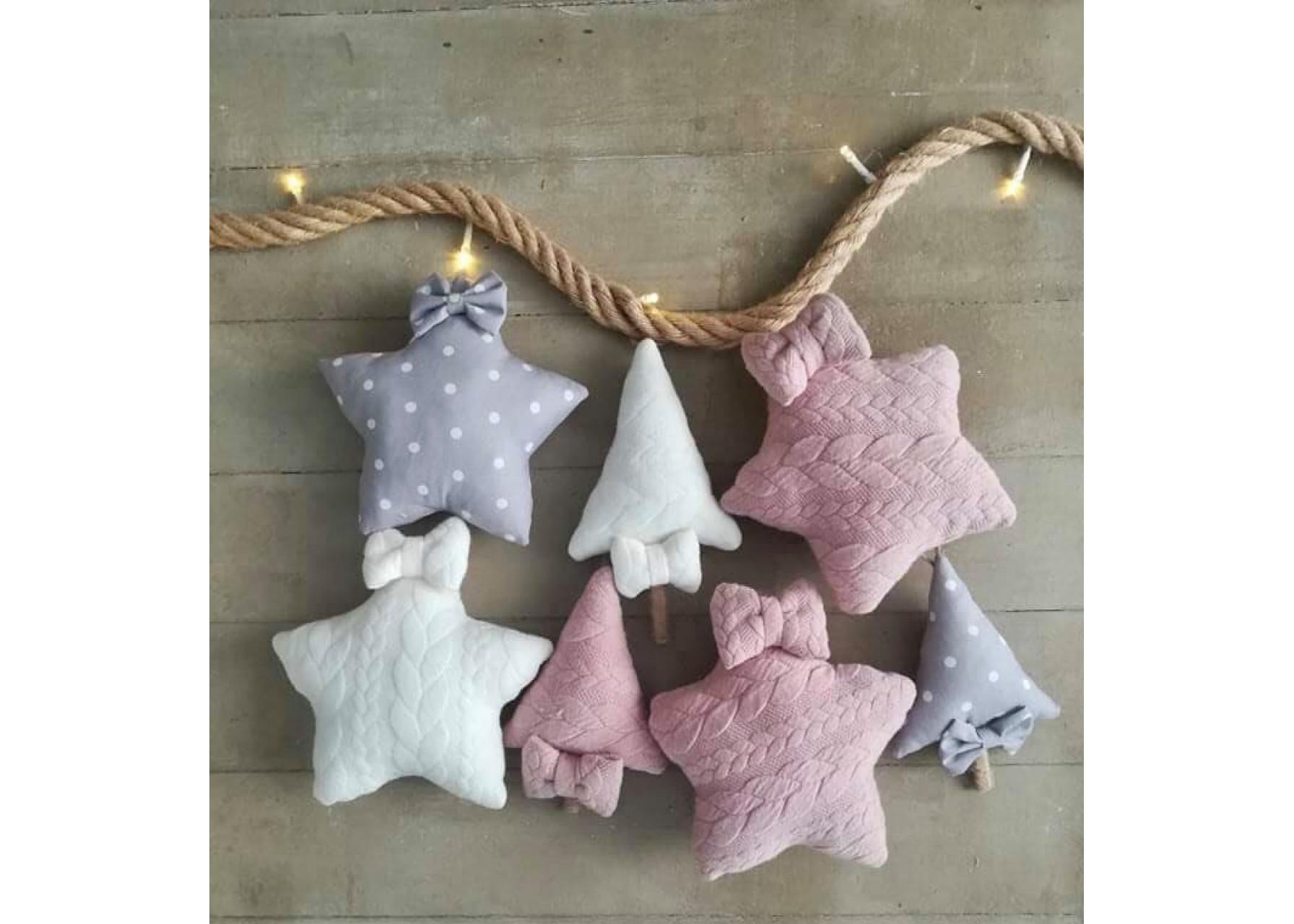 Υφασμάτινα στολίδια / Christmas baby