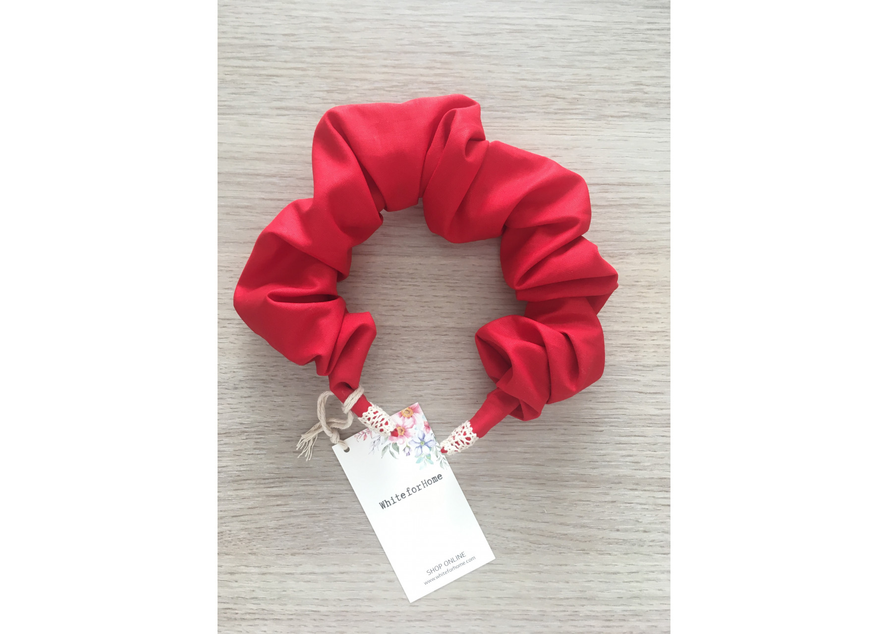 Στέκα scrunchy / Red velvet