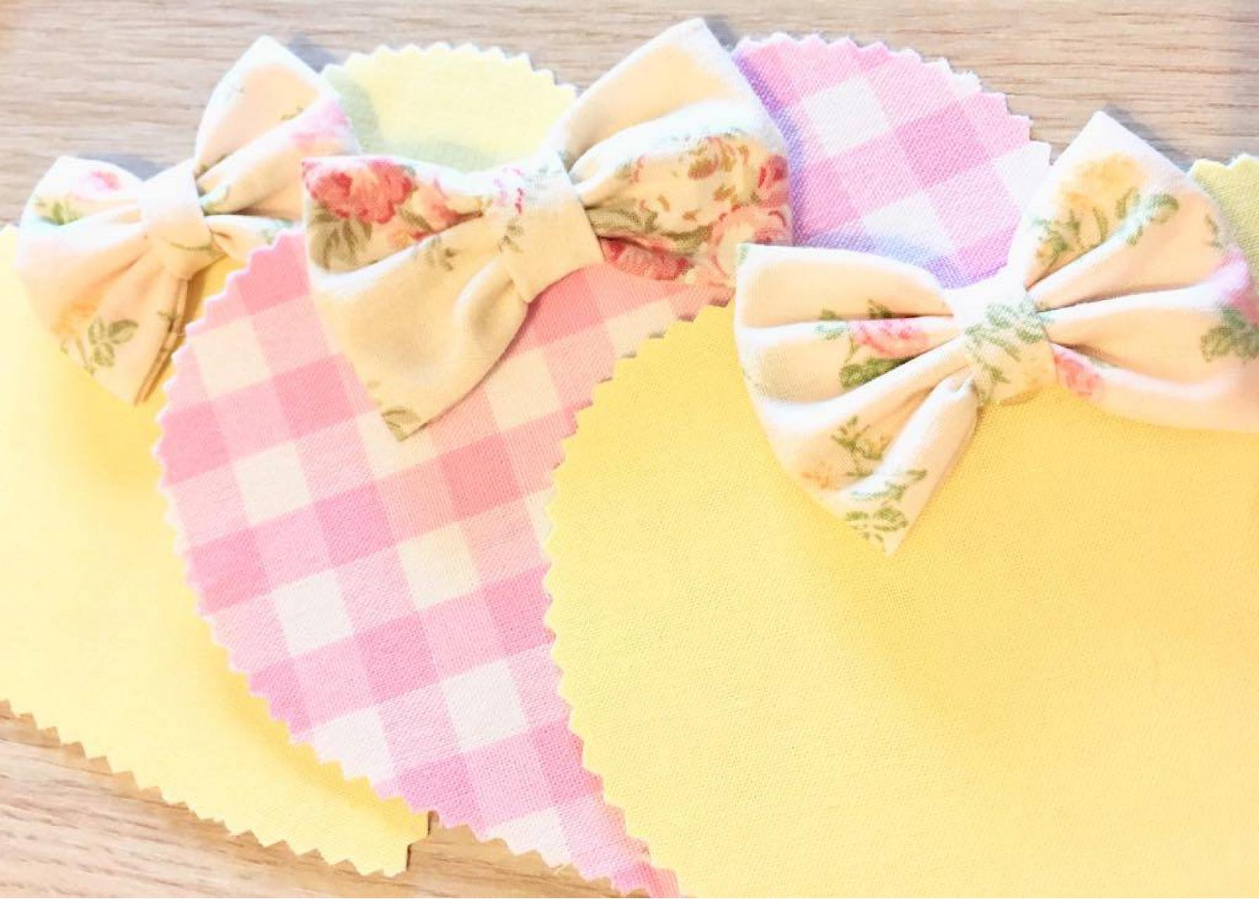Υφασμάτινοι σελιδοδείκτες / Καρδιά ροζ