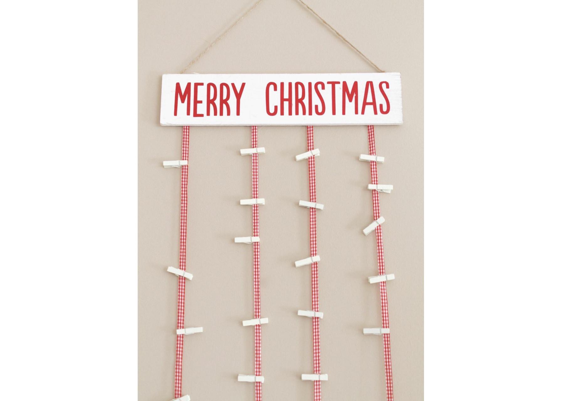 Χριστουγεννιάτικη πινακίδα ευχών