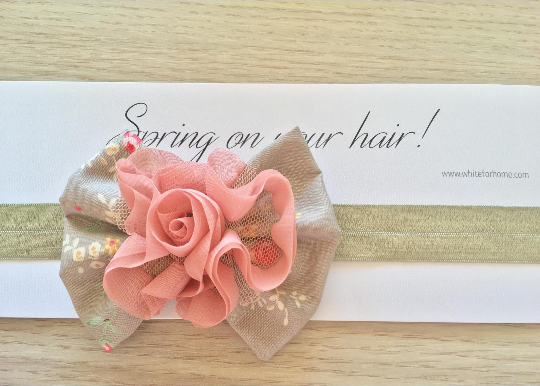 Κορδέλα μαλλιών   Pink candy 160bb1492df
