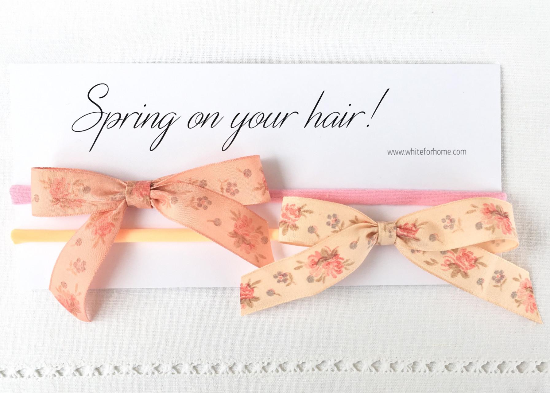 Βρεφική κορδέλα μαλλιών / Mini flowers