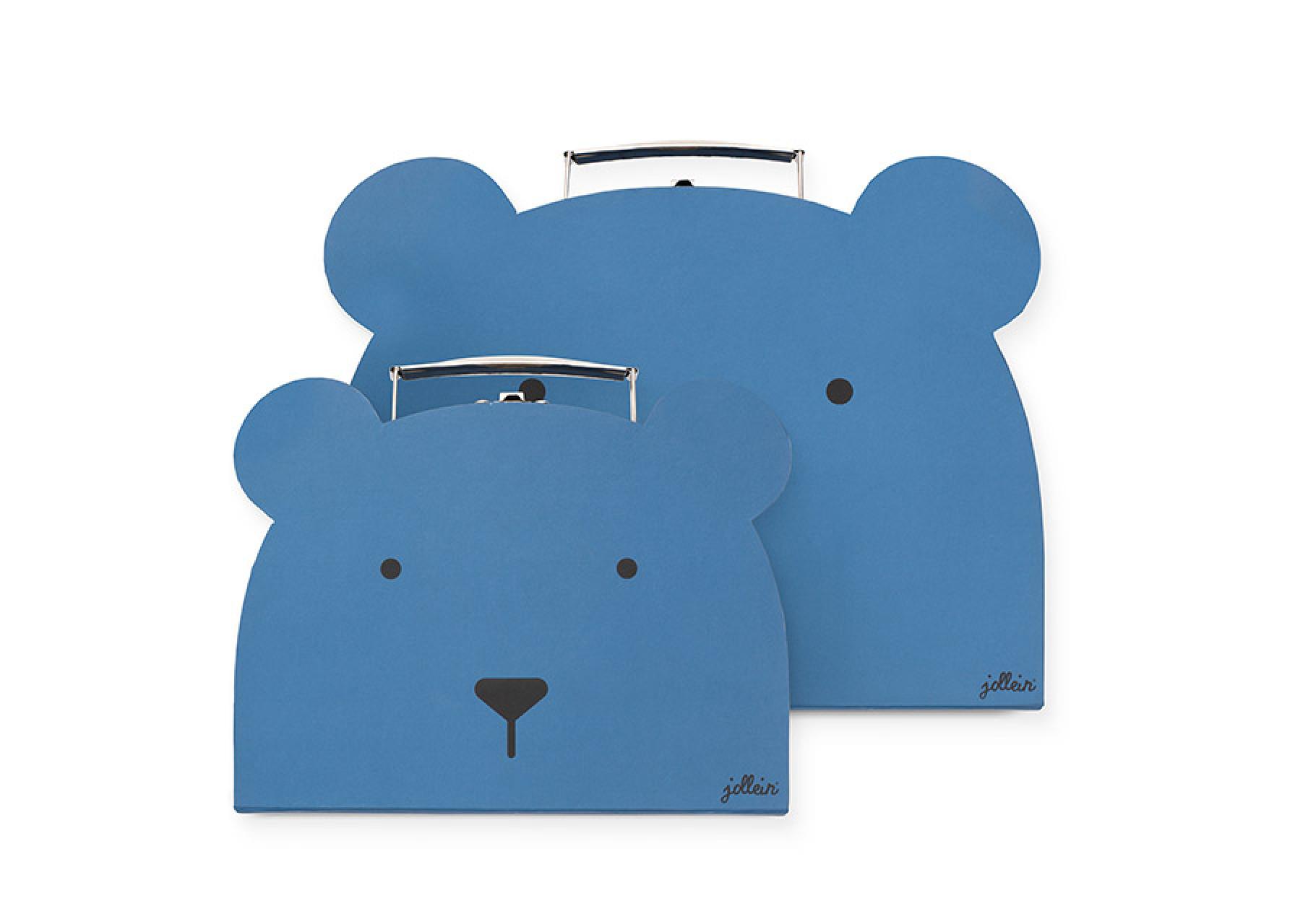 Παιδικό βαλιτσάκι / Μπλε αρκούδος