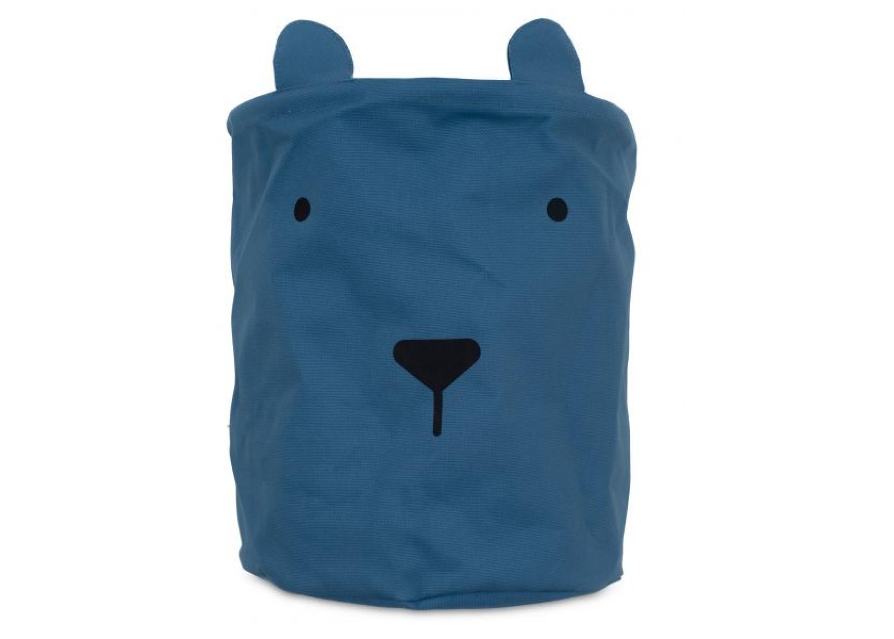 Καλάθι αποθήκευσης / Μπλε αρκούδος
