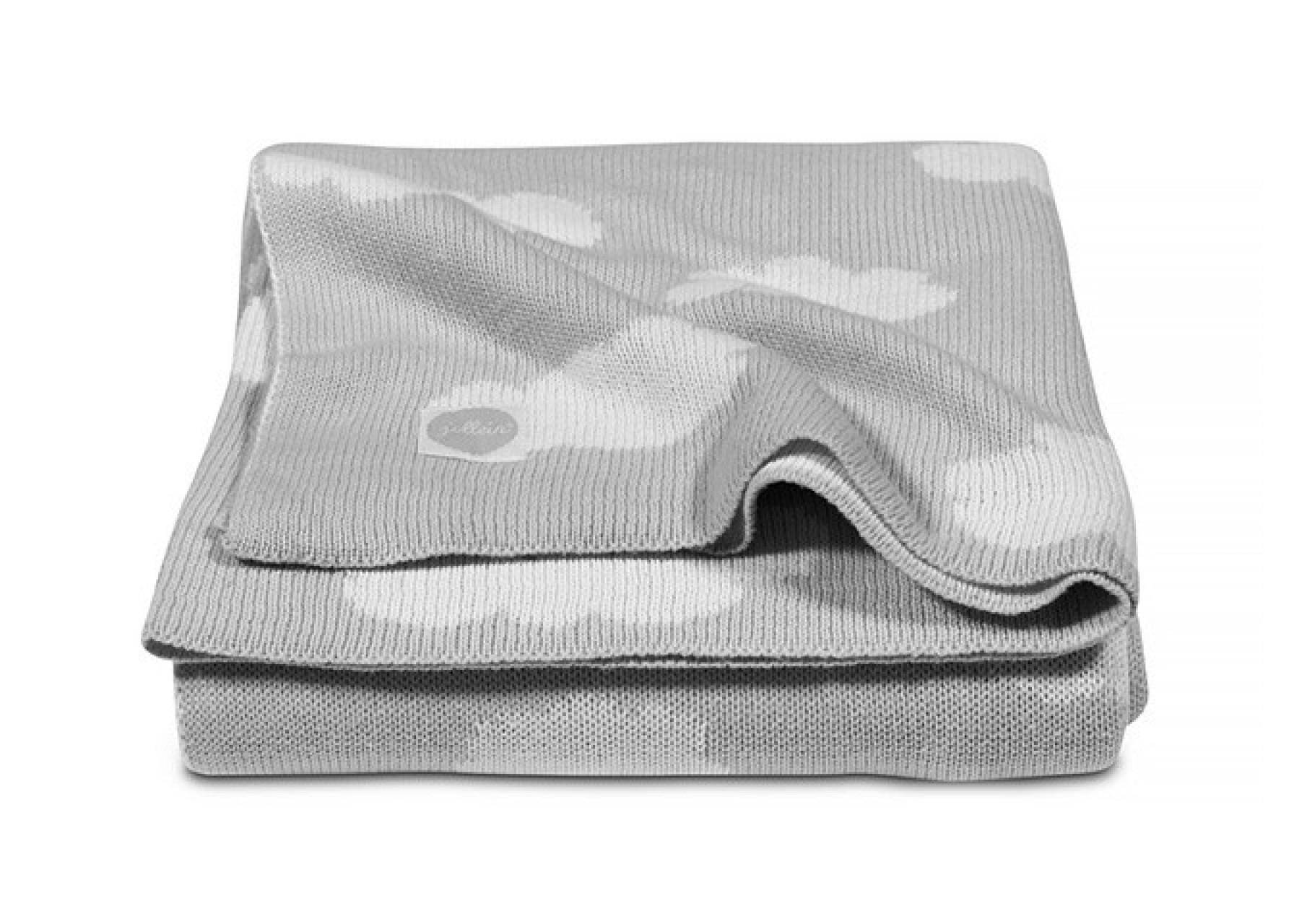 Πλεκτή κουβέρτα /Σύννεφα