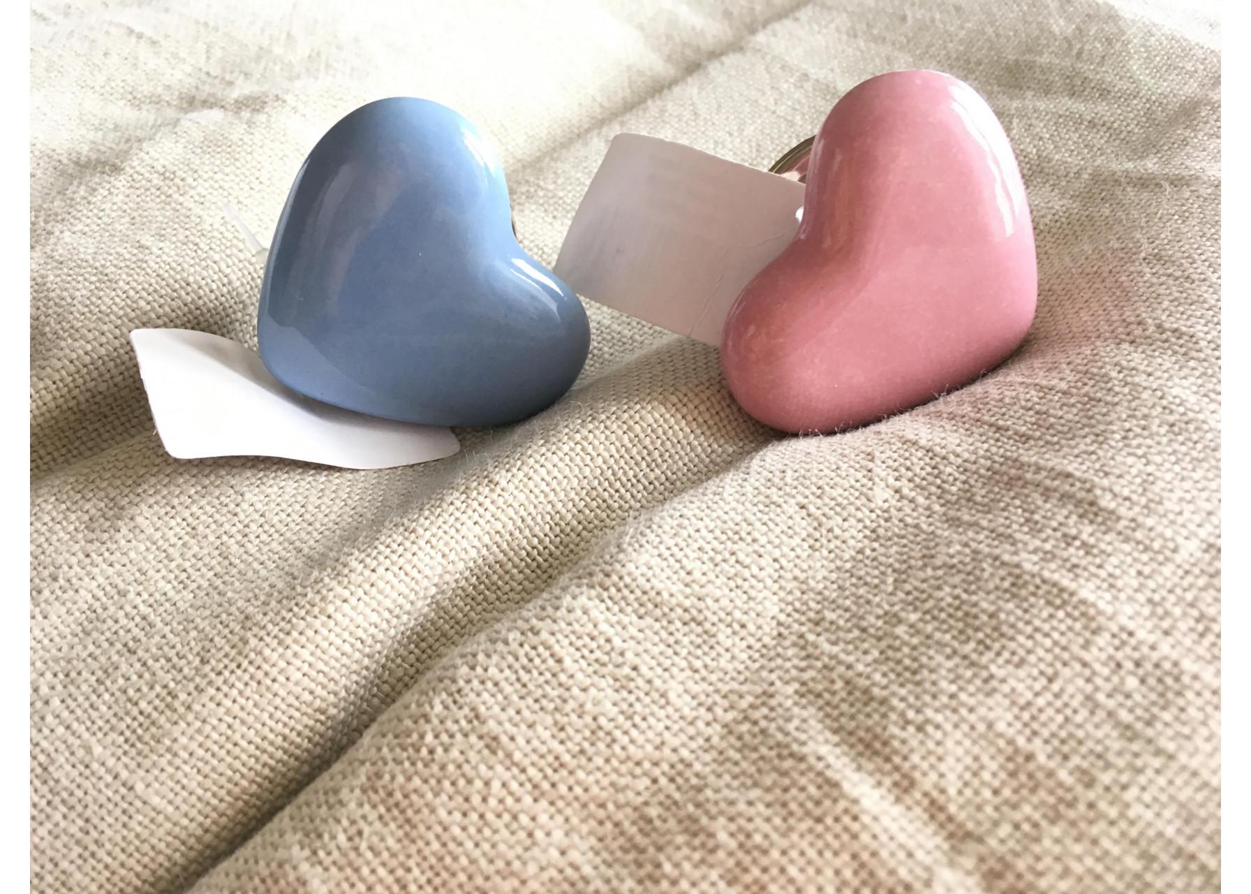 Πόμολο πορσελάνης /  Καρδιά