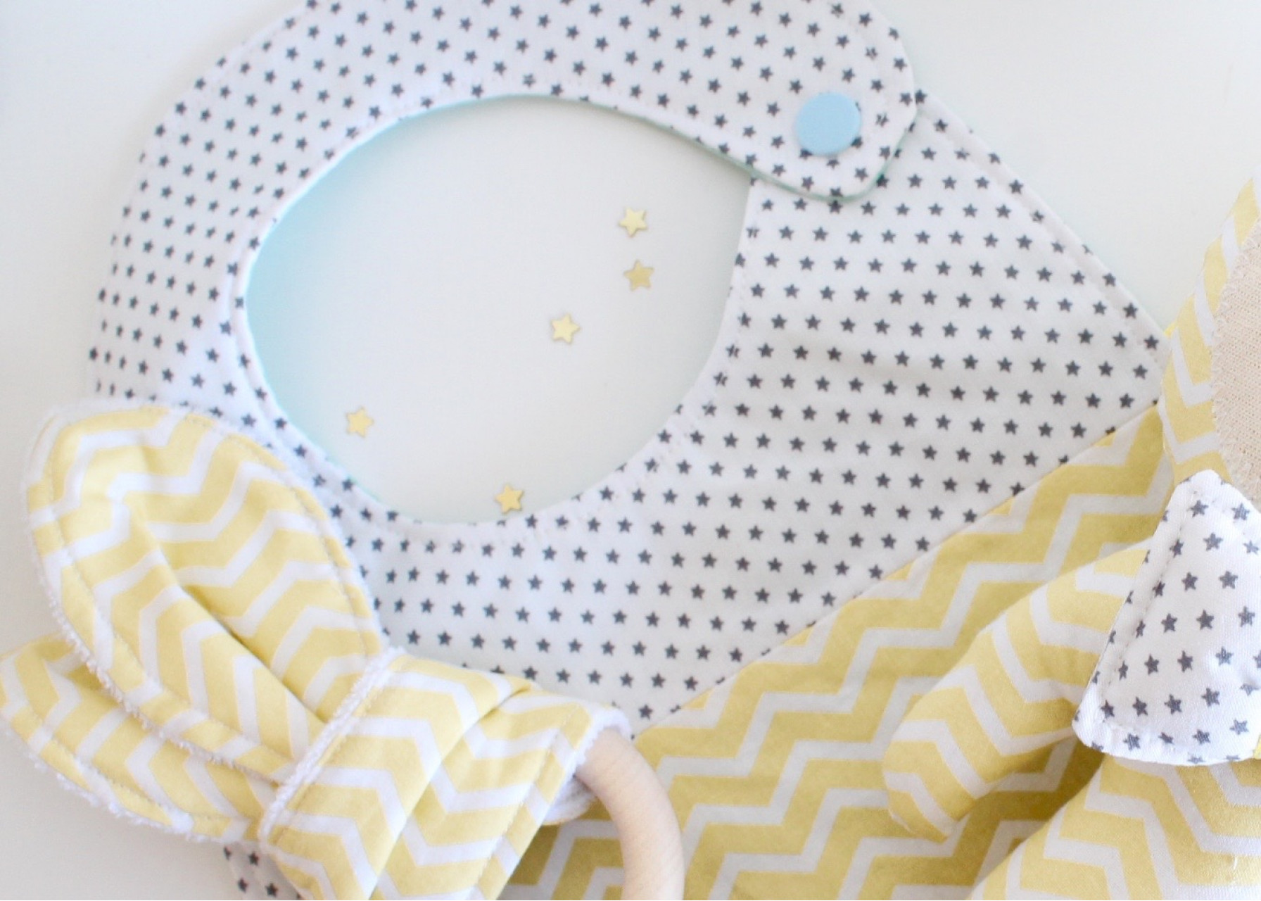 Σετ δώρου για νεογέννητο / Yellow Los Fiogos