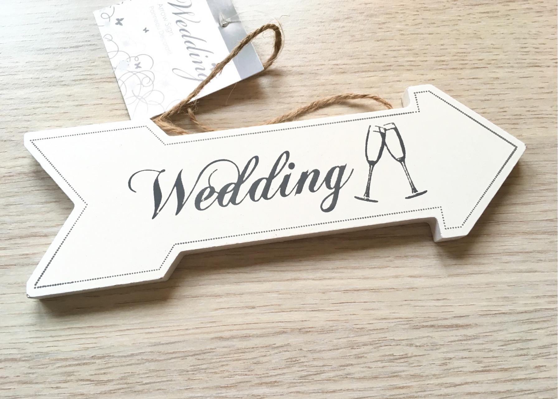 Πινακίδα / Wedding