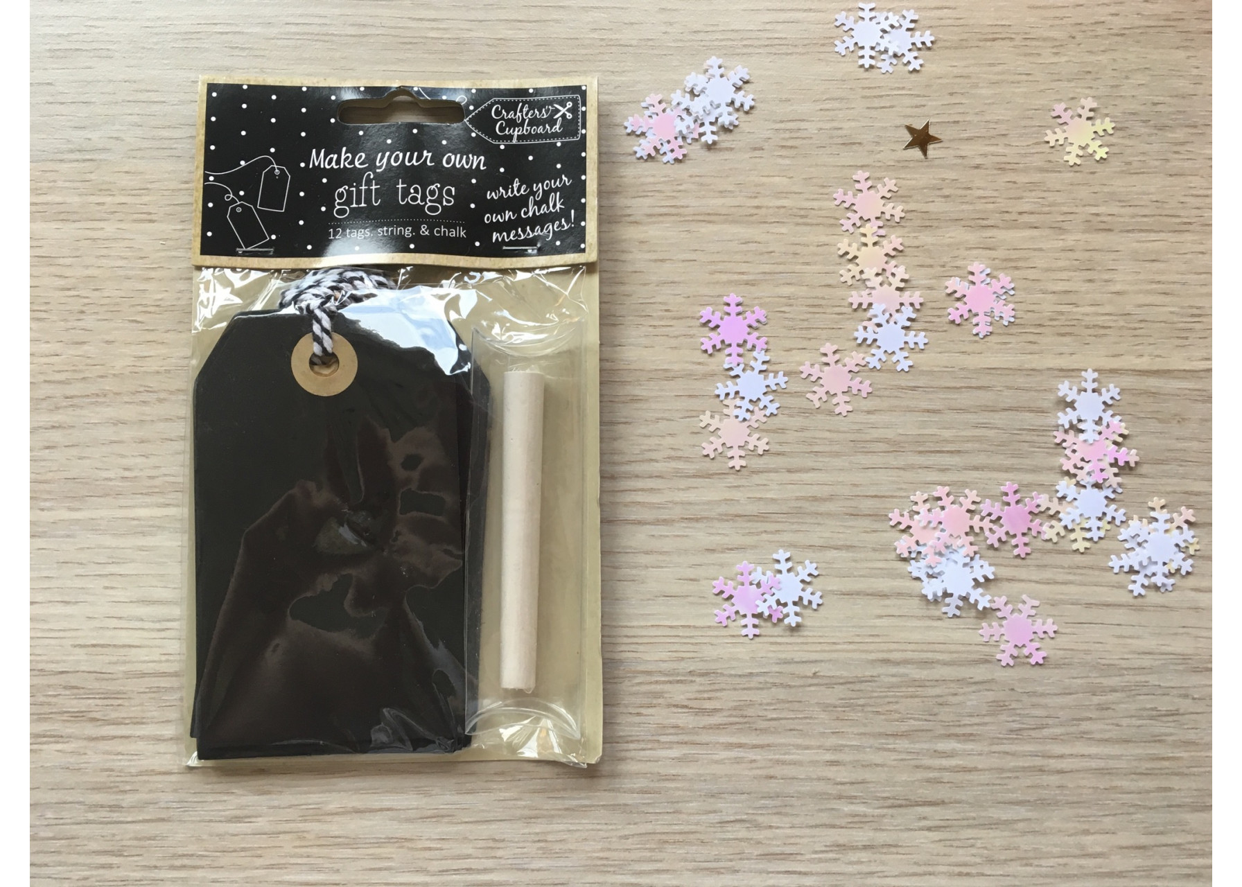 Καρτελάκια δώρου / Μαυροπίνακας
