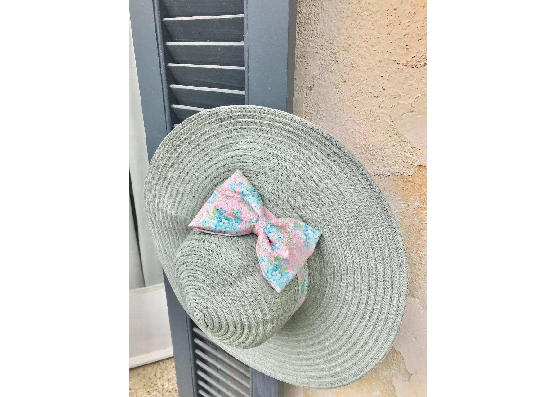 Ψάθινο καπέλο / Σαντορίνη